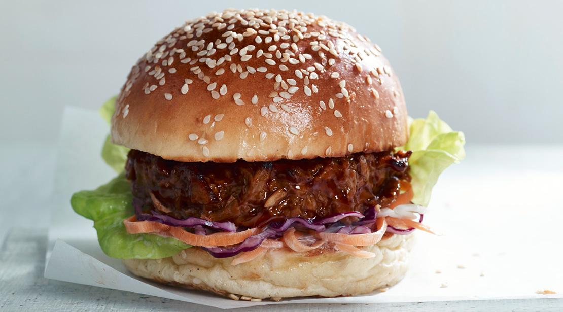 Vegetarian Pulled Pork 1 4lb Burgers